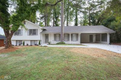 Marietta Single Family Home New: 3130 Greenwood Trail