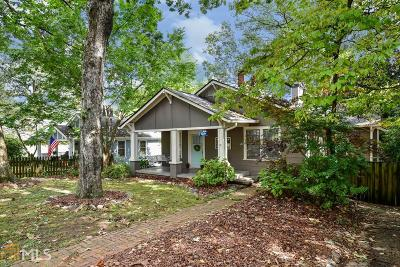 Atlanta Single Family Home New: 878 Gilbert St