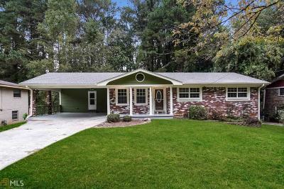 Atlanta Single Family Home New: 3555 Dale Ln