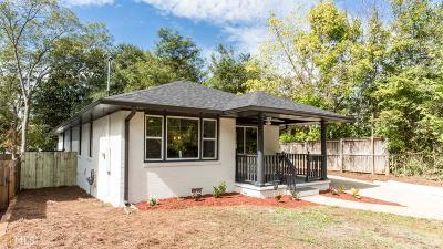 Atlanta Single Family Home New: 166 Howard St