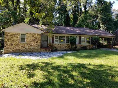 Atlanta Single Family Home New: 1361 Pollard Drive