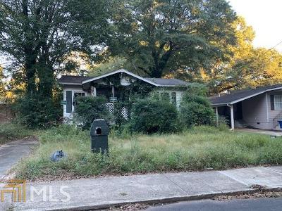 Atlanta Single Family Home New: 1218 Epworth Street
