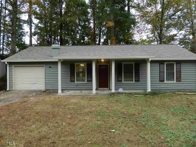 Stone Mountain Single Family Home New: 3883 Wood Path Dr