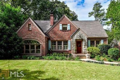 Atlanta Single Family Home New: 1740 Inverness Ave