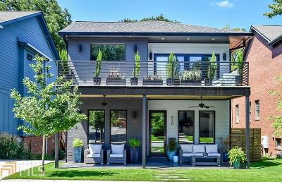 Old Fourth Ward Single Family Home Under Contract: 620 Fortune Pl