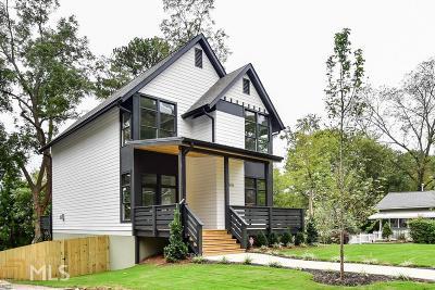 Atlanta Single Family Home New: 1676 Carroll Drive NW