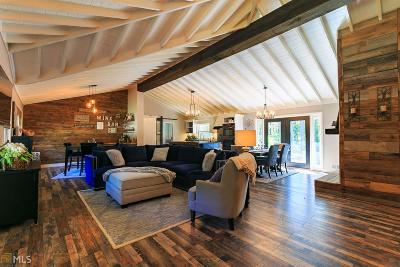 Dawsonville Single Family Home For Sale: 1555 Elliott Family Pkwy