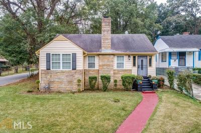 Atlanta Single Family Home New: 1976 Baker Road NW