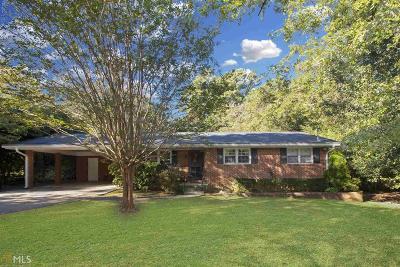 Stone Mountain Single Family Home New: 1621 Chris Lane