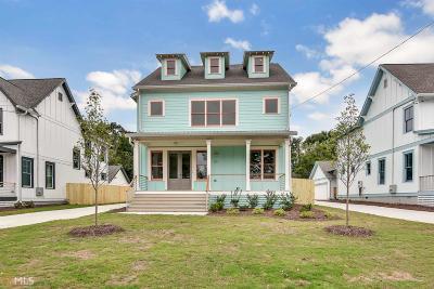 Atlanta Single Family Home New: 221 S Howard St