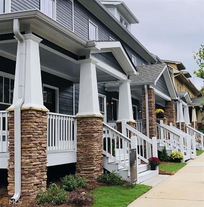 Hapeville Condo/Townhouse For Sale: 623 Chestnut St #H