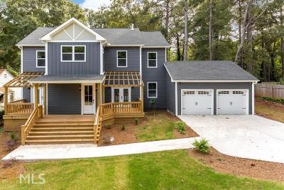 Atlanta Single Family Home New: 1615 Van Vleck Ave
