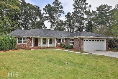 Atlanta Single Family Home New: 1913 Wildwood Pl