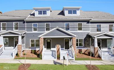 Hapeville Condo/Townhouse For Sale: 621 Chestnut St #H