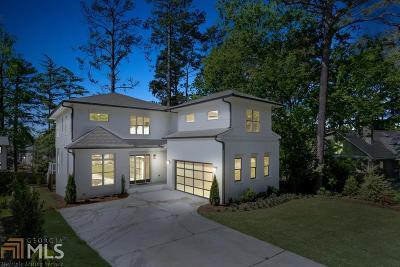 Atlanta Single Family Home New: 593 Pelham Rd