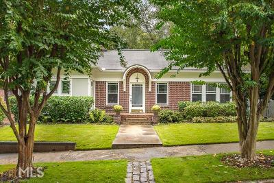 Atlanta Single Family Home New: 1099 Stillwood Dr
