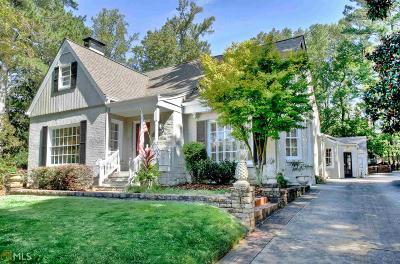 Avondale Estates Single Family Home For Sale: 72 Dartmouth Ave