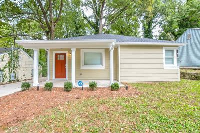 Atlanta Single Family Home New: 1350 Graymont Dr SW