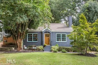 Atlanta Single Family Home New: 660 Gresham Avenue SE