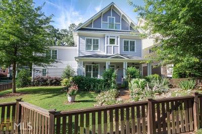 Decatur Single Family Home Under Contract: 105 Lenore St