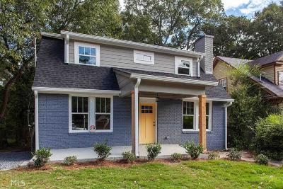 Atlanta Single Family Home New: 224 Wellington Street