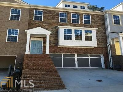 Decatur Condo/Townhouse For Sale: 1014 Grant Park Rd