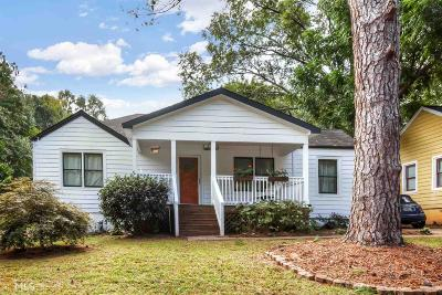 Atlanta Single Family Home New: 1625 Braeburn Drive