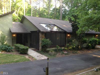 Peachtree City Single Family Home Under Contract: 100 Parkway Dr