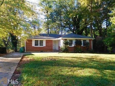 Atlanta Single Family Home New: 1899 Boulderview Drive SE