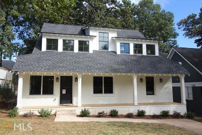 Atlanta Single Family Home New: 271 Mellrich Ave