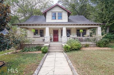 Decatur Single Family Home New: 117 S Columbia Dr
