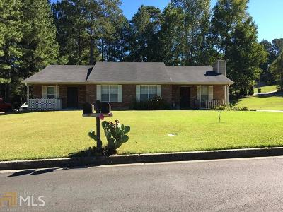 Clayton County Multi Family Home Under Contract: 5756 Williamsburg Trce