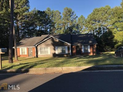 Clayton County Multi Family Home Under Contract: 5829 Williamsburg Trce #5831