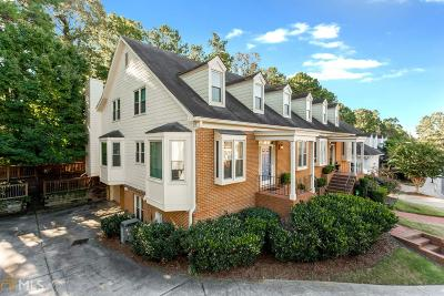 Norcross Condo/Townhouse Under Contract: 6123 Forest Hills Pl