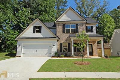 Acworth Single Family Home New: 832 Tramore Rd