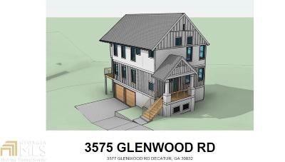 Atlanta Single Family Home New: 3575 SE Glenwood