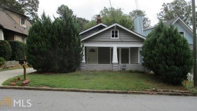 Atlanta Single Family Home New: 460 Monument Avenue SE