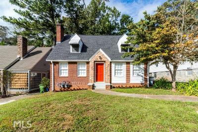 Atlanta Single Family Home New: 1673 Westhaven Drive SW