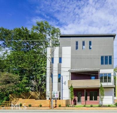 Dekalb County Condo/Townhouse For Sale: 292 Gordon Ave #E