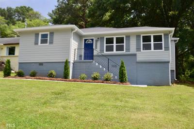 Atlanta Single Family Home New: 1342 Montreat