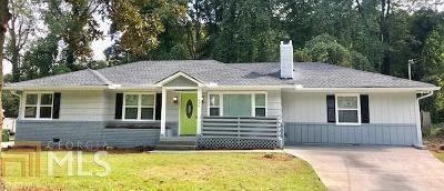 Atlanta Single Family Home New: 1656 Laurelwood Dr SW