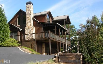 Hiawassee Single Family Home Under Contract: 2004 Bend Of The River
