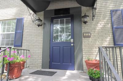 Condo/Townhouse For Sale: 1643 Briarcliff Rd #6