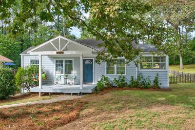 Chamblee Single Family Home Under Contract: 4096 W Johnson Cir