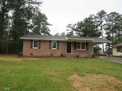 Barnesville Single Family Home Under Contract: 144 Edgewood Cir