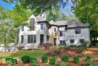Atlanta Single Family Home New: 1677 Lenox Rd