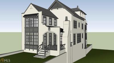Atlanta Single Family Home New: 1068 Amsterdam Ave