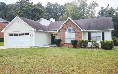 Douglasville Single Family Home New: 3176 Pope Rd