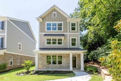 Woodstock Single Family Home New: 306 Southpark Ln