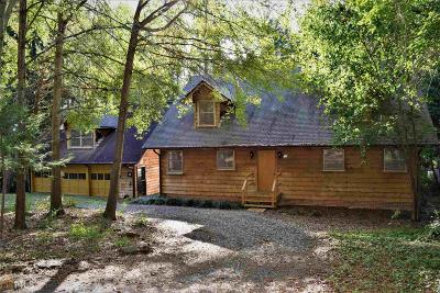 Toccoa Single Family Home Sold: 673 Currahee Ridge Rd